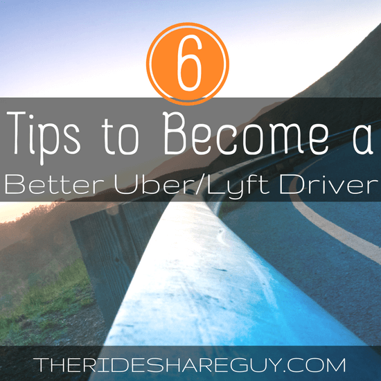 Looking for tips to become a better Uber/Lyft driver? Sometimes it's not about the strategy or spreadsheets - it's about taking care of yourself first.
