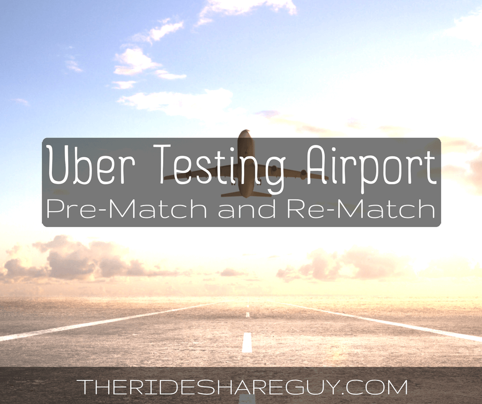 Are airport queues getting longer? We investigate Uber's new pre-match and re-match airport program: how it works and how it will affect drivers.