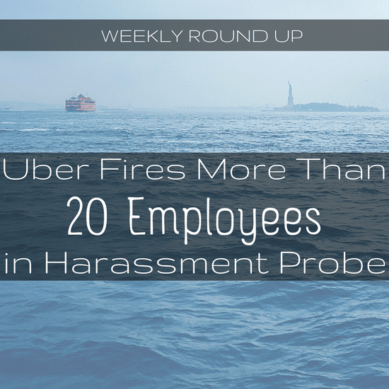 It just keeps on going for Uber: more than 20 people fired in a harassment probe, and Travis is meditating in lactation rooms. The round up here -