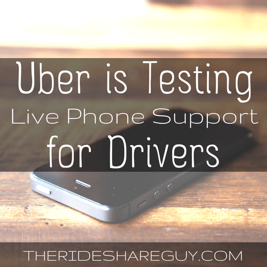 Did you hear Uber is offering live phone support in select markets? Do you think you would use phone support if it were offered in your city?