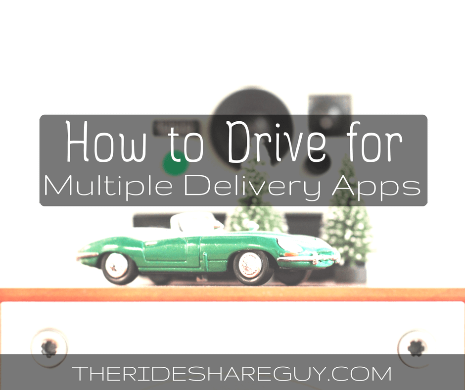 Driving for Multiple Food Delivery Apps at the Same Time