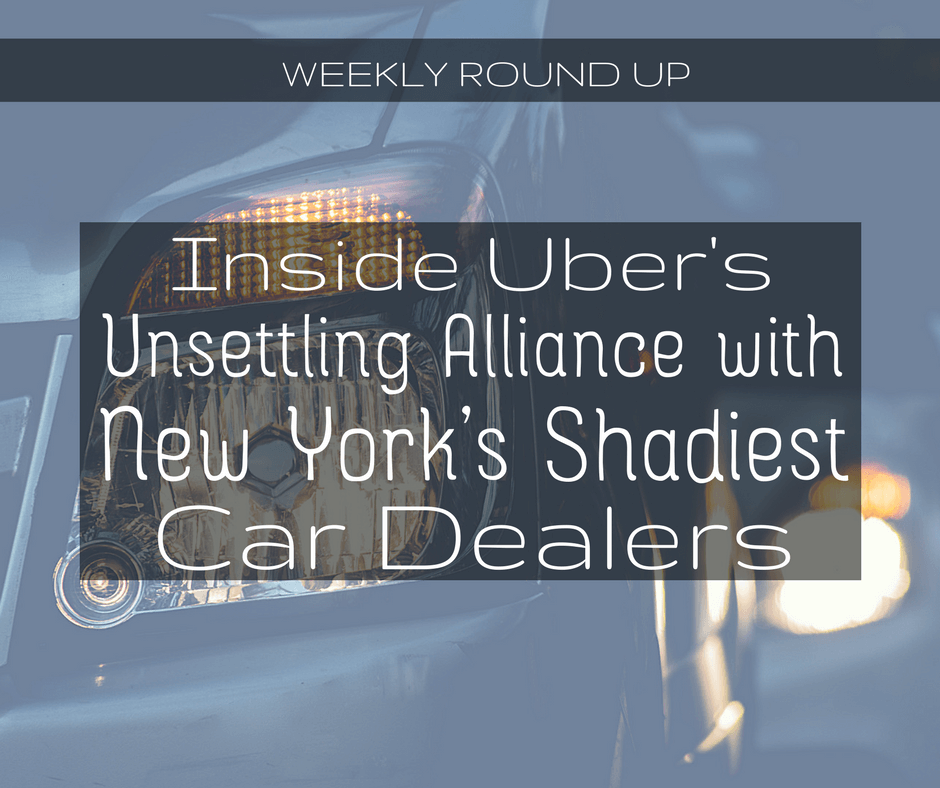 Inside Uber S Unsettling Alliance With Some Of New York S