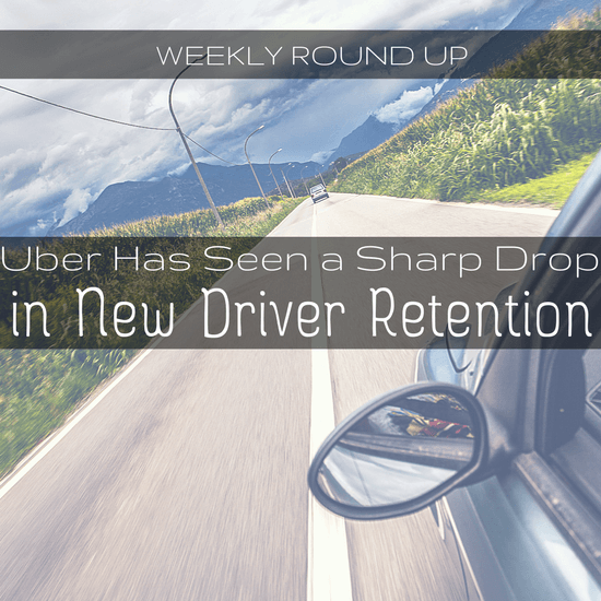In this roundup, John Ince covers a drop in new driver retention, a new ruling on driver classification, & cities blaming rideshare drivers for accidents -