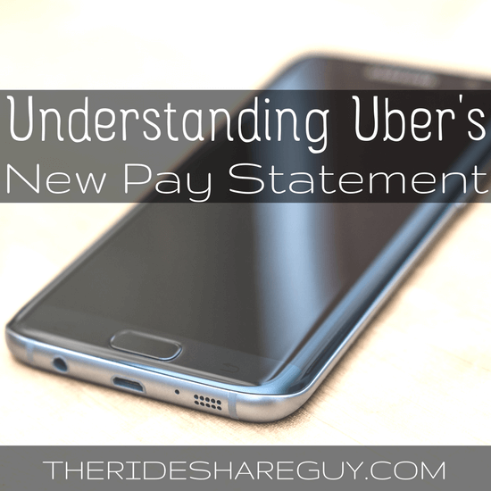 Wondering how to read your Uber pay statement? Uber's new pay statement actually gives drivers more info than before - here's how to read it.