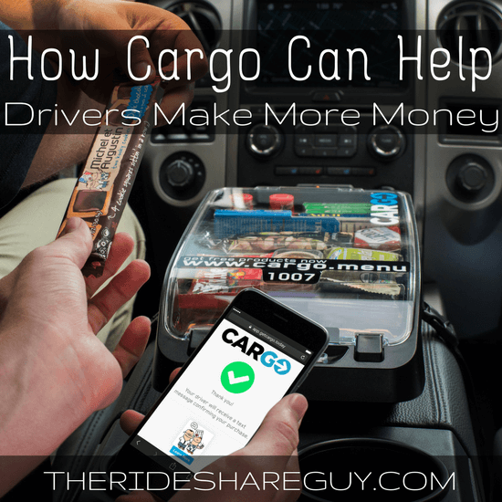 Many drivers have eliminated snacks from their cars, for good reasons. However, the Cargo Box now incentivizes drivers to provide snacks - and pays them to do it.