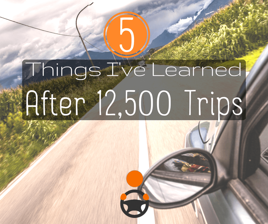 5 Things I Have Learned After 12,500 Trips