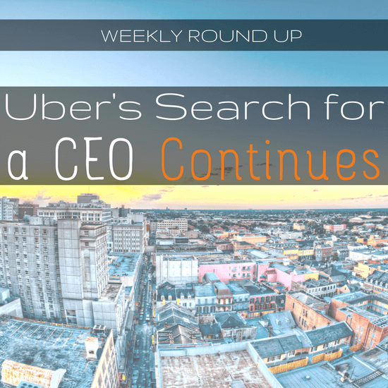 John Ince covers Uber's search to replace former CEO Travis Kalanick, Uber's supposed revenue, and an update on all the lawsuits Uber is facing -