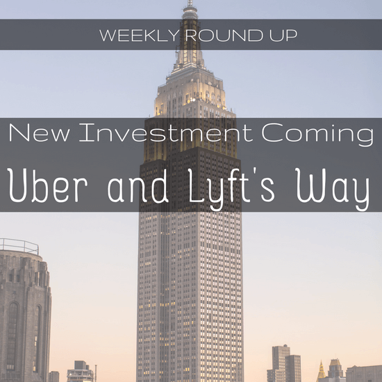 In this round up, John Ince outlines upcoming investment in Uber and Lyft and how Uber's new CEO is set to blow a hole in Uber's budget.