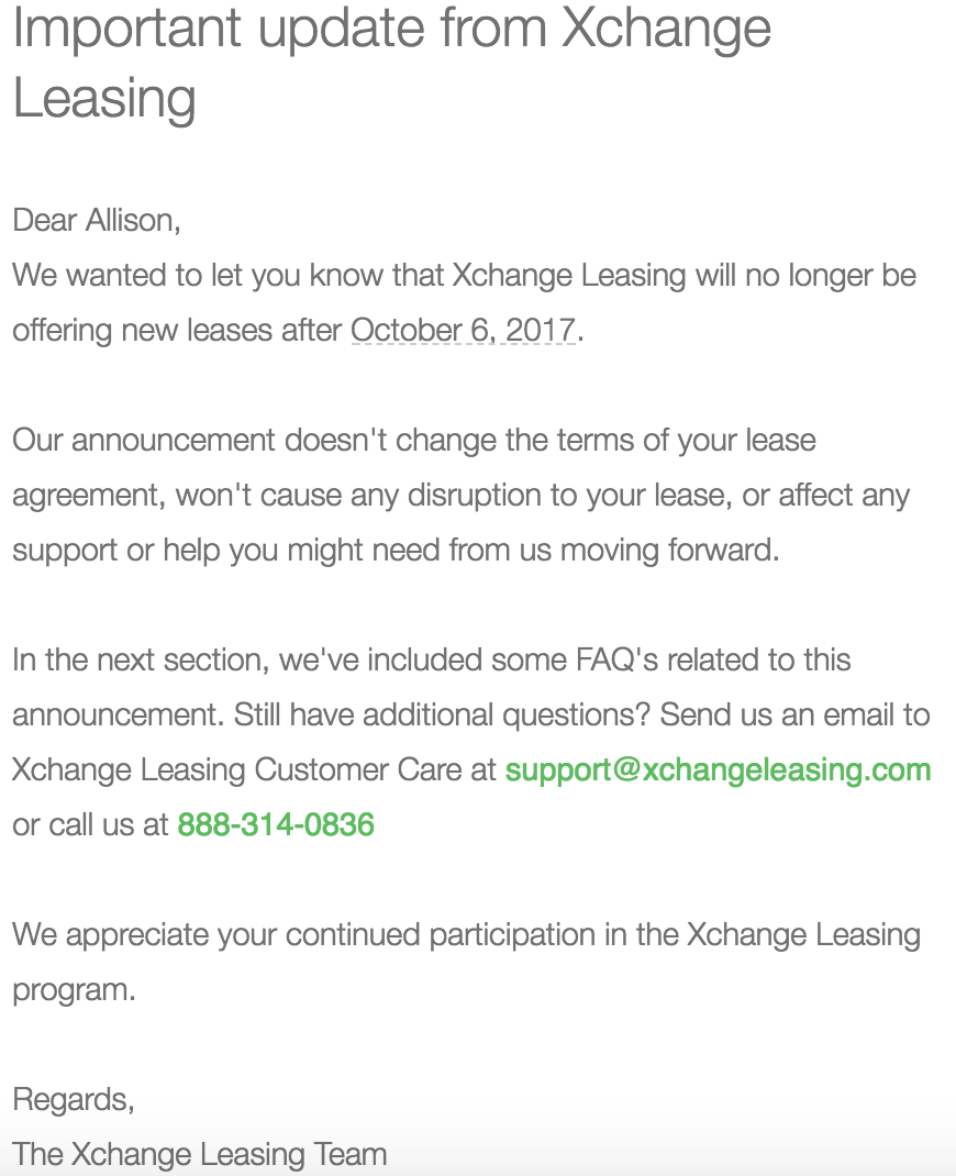 Uber xchange leasing and enterprise programs are going away screen shot 2017 09 28 at 35401 pmg platinumwayz