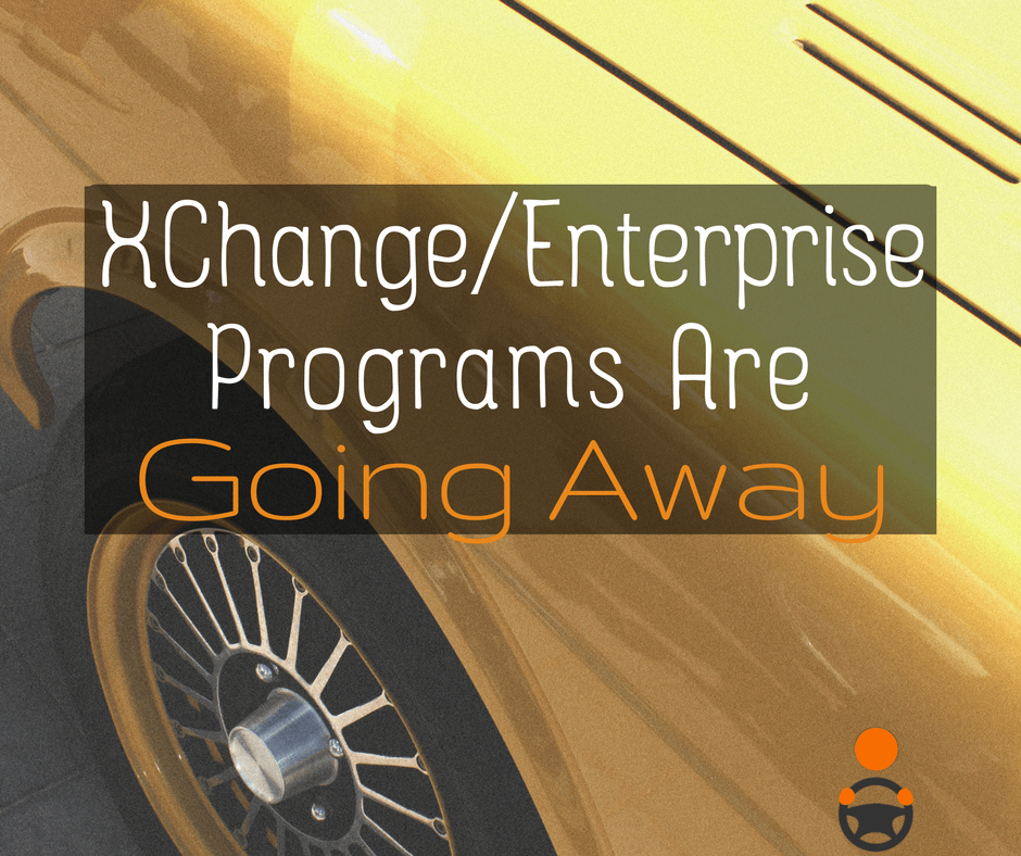 Uber Xchange Leasing and Enterprise Programs Are Going Away