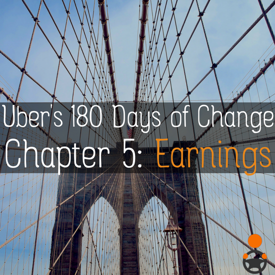 The final chapter in Uber's 180 Days of Change focuses on earnings, but will it benefit drivers or passengers more? Our analysis of Chapter 5 here -