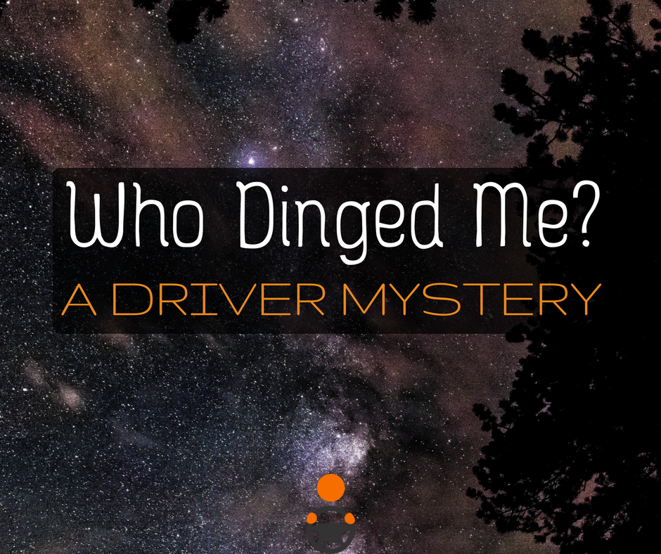 """Today we have a """"who did it?"""" mystery for you that all drivers face: who dinged me? We lay out the clues, you identify the dinger."""