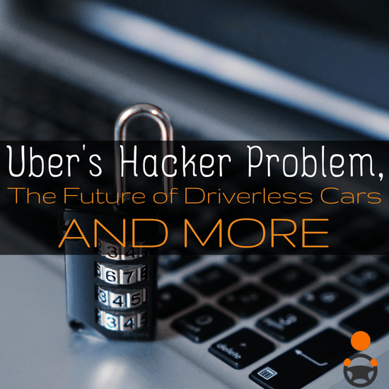 In this round up, we cover Uber and the hackers they paid to delete stolen data, driverless cars and the future, a generous donation and more.