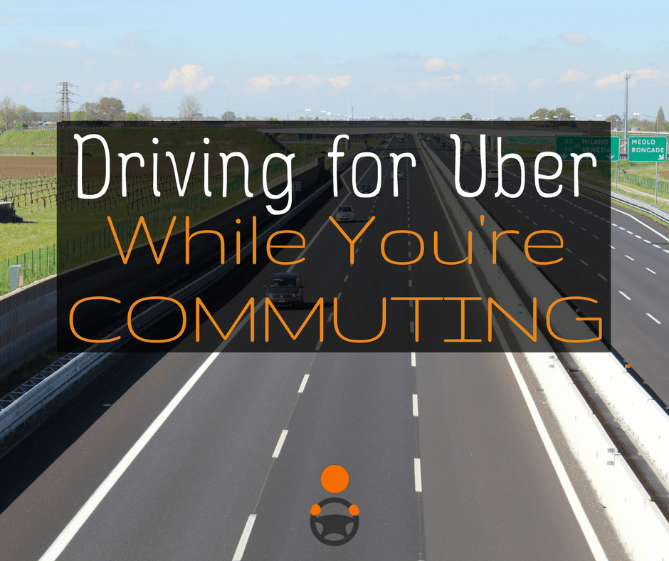 The Rideshare Commuting Strategy for Drivers
