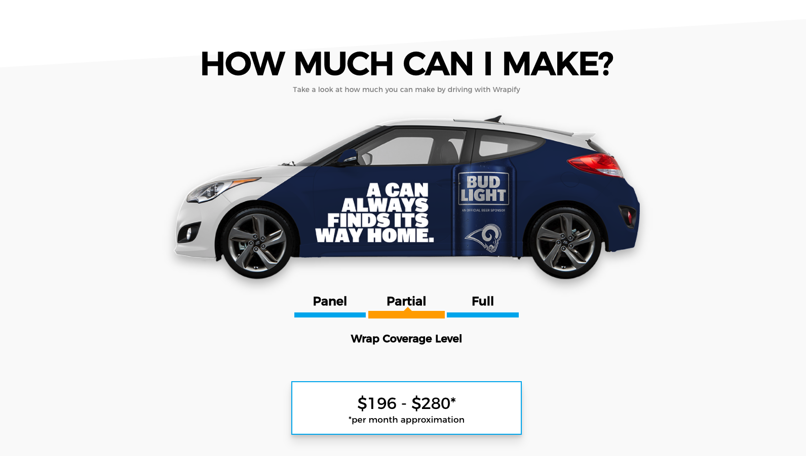 Vehicle Get Weekly Wrap Paid And Your $500