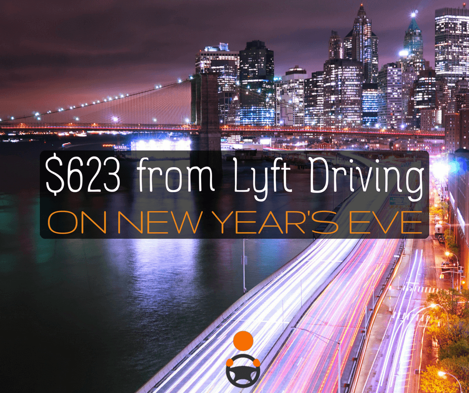 Is it Worth It to Drive Uber and Lyft on New Year's Eve?