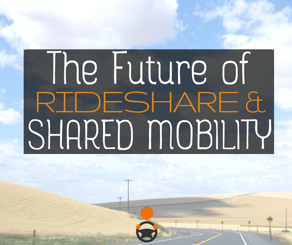 The Future of Rideshare and Shared Mobility