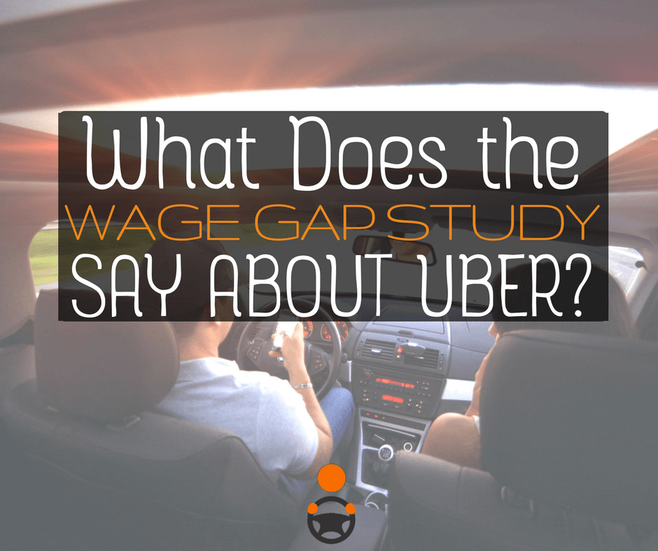 Wage Gap Study Reveals A Lot About Driving For Uber