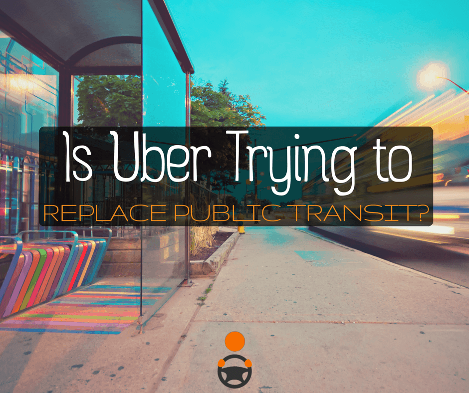 Uber's Goal Is Not to Operate Alongside Public Transit but to Replace It