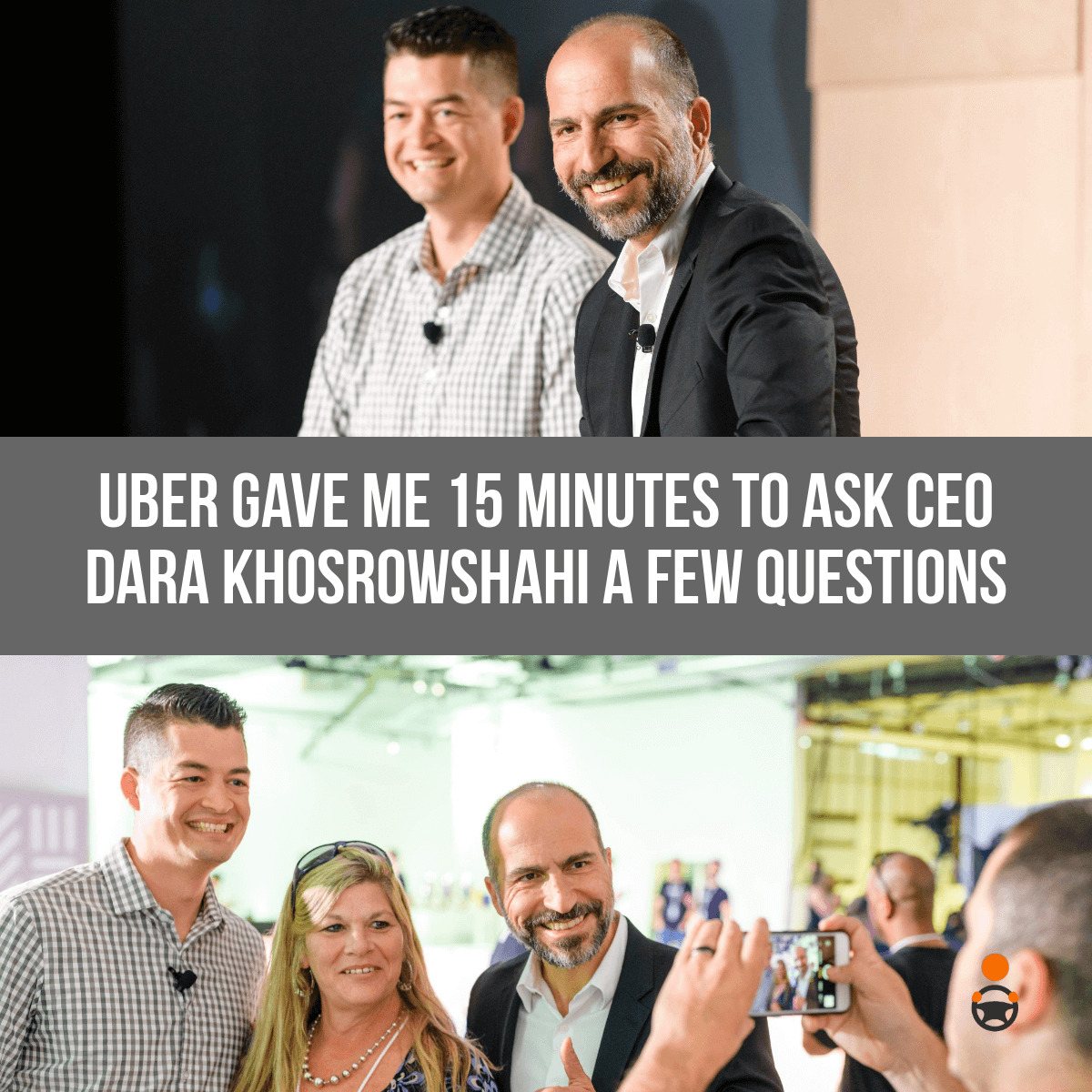 Recap of My Live Q&A With Uber CEO Dara Khosrowshahi
