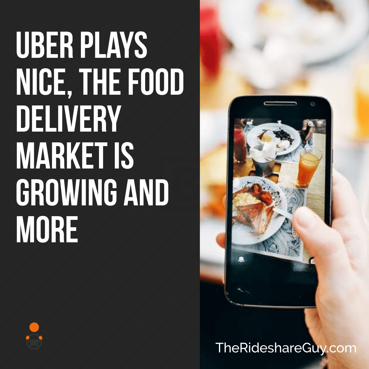 Lots to cover this week, including two articles on food! Senior RSG contributor John Ince covers a scary altercation with a passenger, highlighting a major problem with rideshare, plus how Uber is playing nice with cities and how the food delivery market continues to grow.