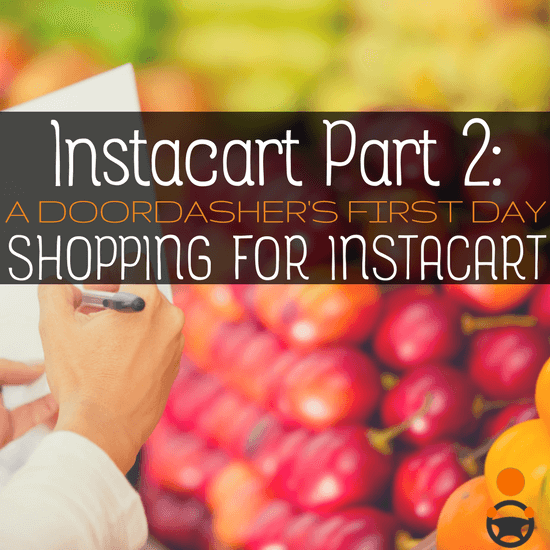 Being an Instacart Driver