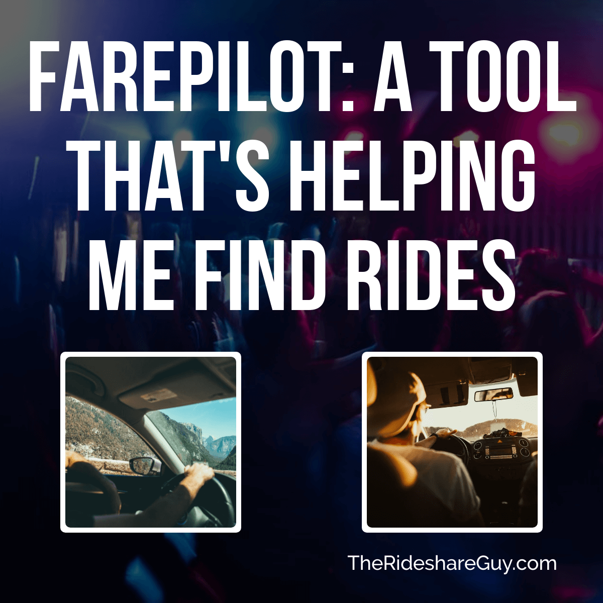 FarePilot: A Tool That's Helping Me Find Rides