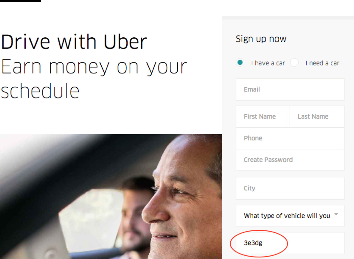 Drive with Uber, earn money on your own time
