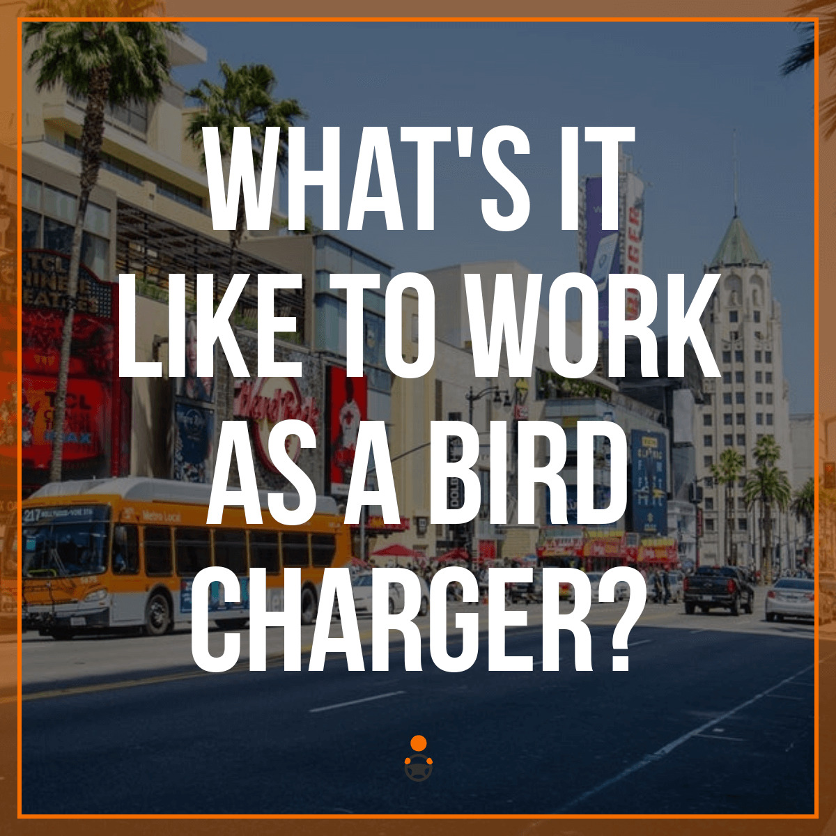 What's it Like to Be a Bird Charger & How To Become One