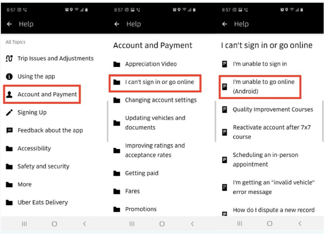 How To Get In Touch With Uber Support