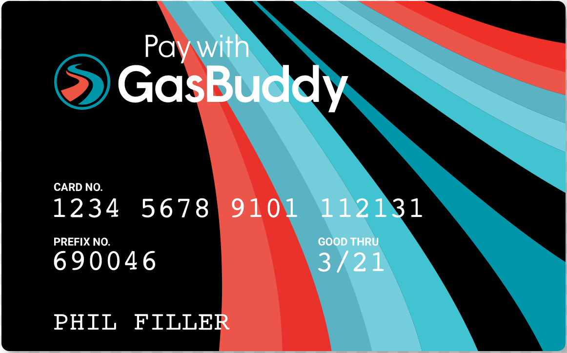 image of The GasBuddy card
