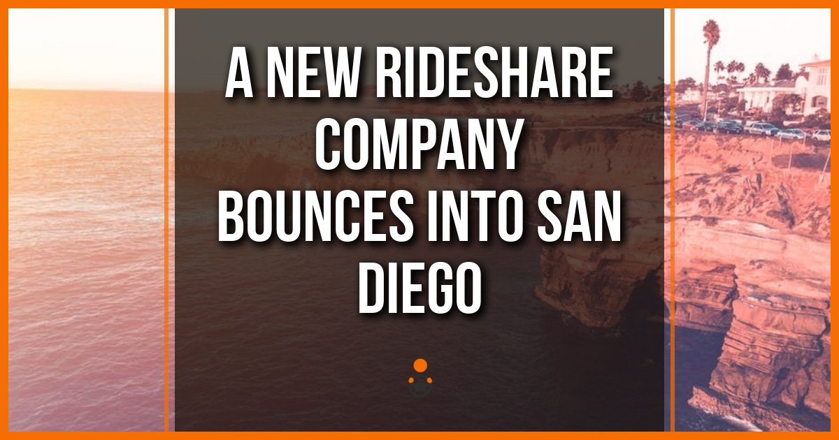 Rideshare San Diego >> A New Rideshare Company Bounces Into San Diego
