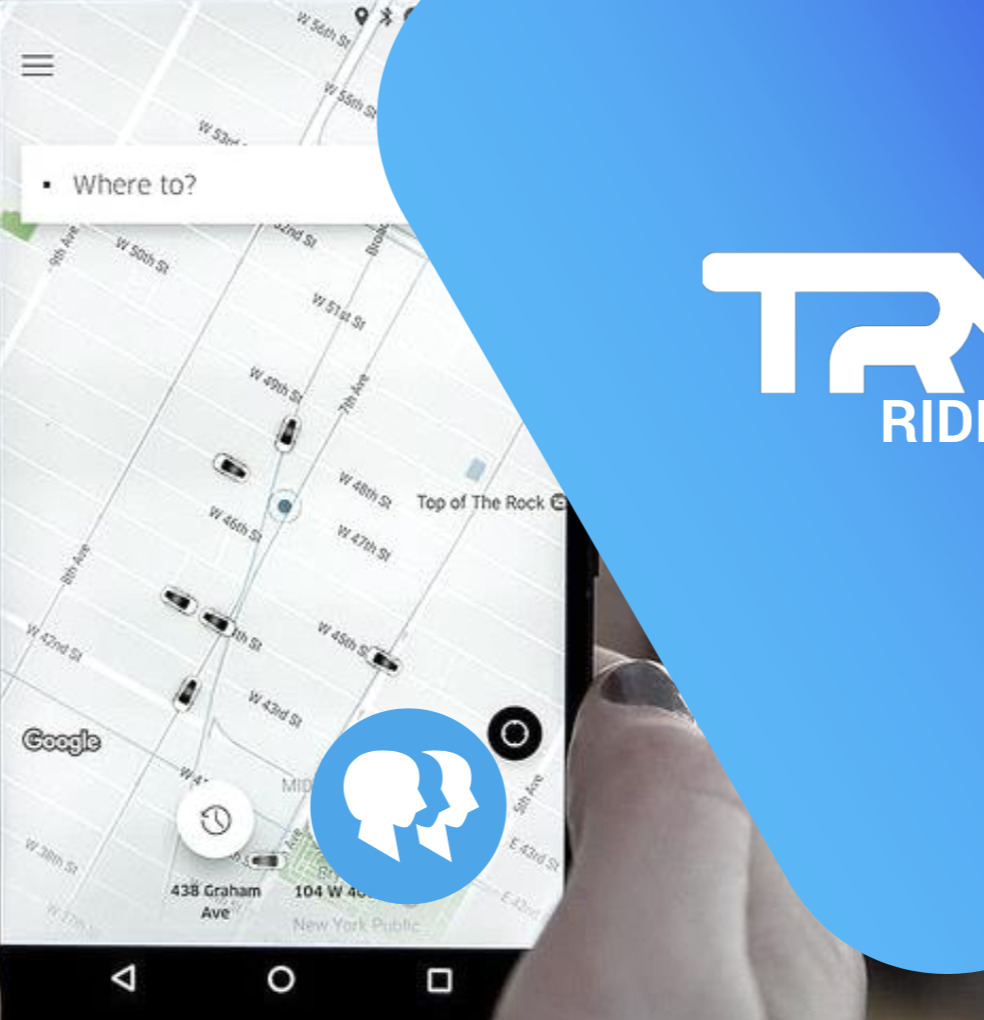 image of Tryp's copy of Uber pax app