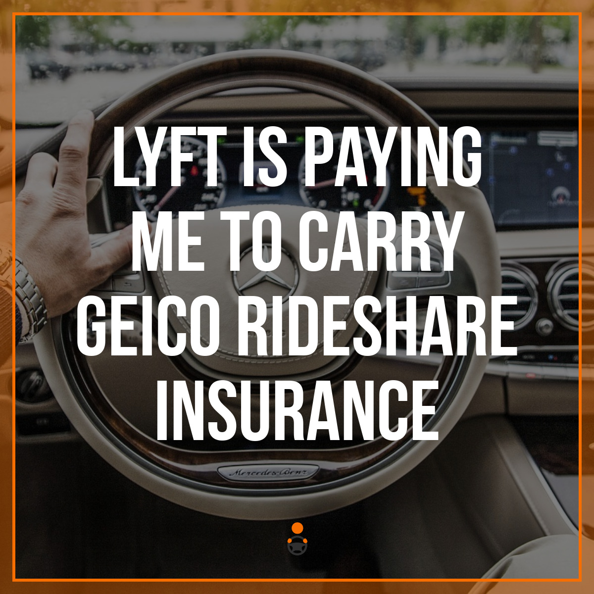 Lyft Is Paying Me To Carry Geico Rideshare Insurance
