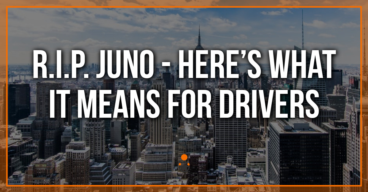 R.I.P. Juno – Here's What it Means for Drivers