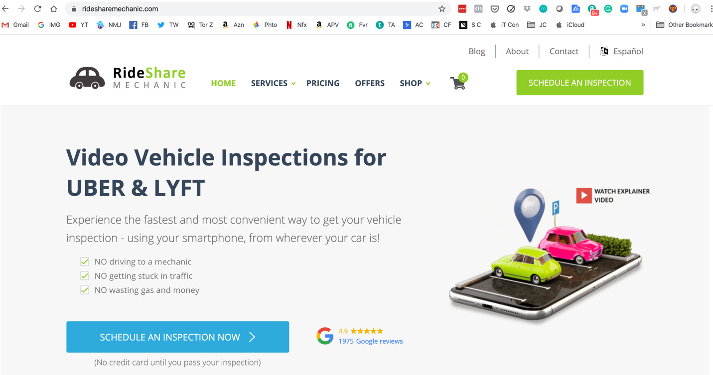 Rideshare Mechanic Review – Is The Virtual Inspection Worth It?