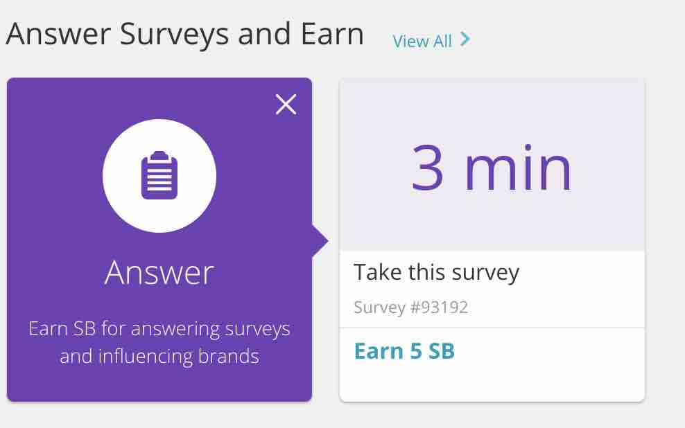 take surveys with swagbucks