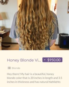 make money selling your hair