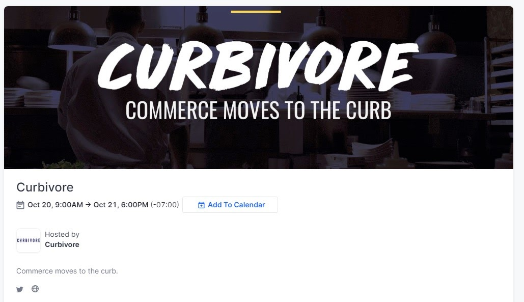 Announcing: Curbivore, a Conference About the Curb + Community