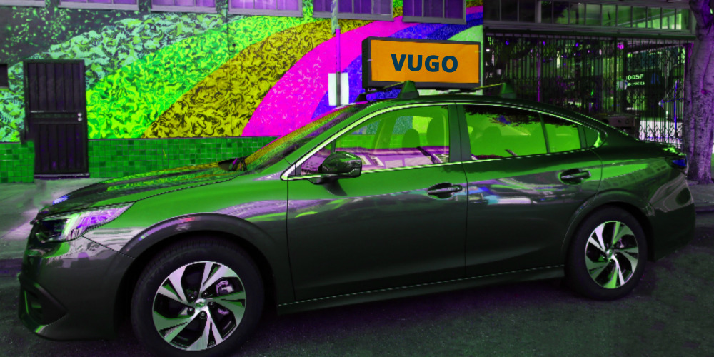 Invest in Vugo, A Rideshare Advertising Startup